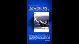 Anshuka Parwani – Yoga from Home #FitnessFromHome | Bajaj Allianz Life