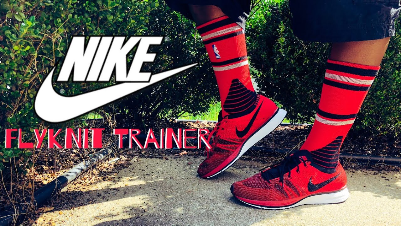 "3622e7f816b0a Nike Flyknit Trainer ""University Red"