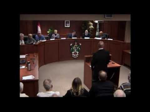 Raucous reaction at Town of Pelham Council's special meeting  Nov. 15, 2017