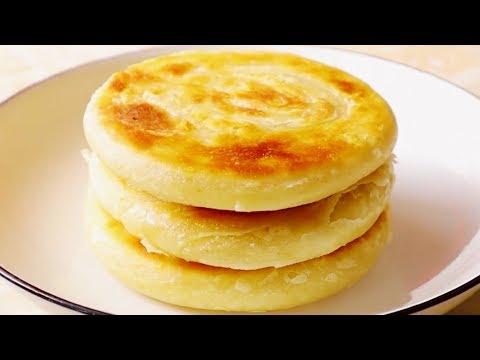 油酥烙饼的做法,外酥里软,焦香酥脆,层次丰富