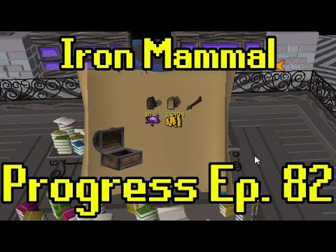 Oldschool Runescape - 2007 Iron Man Progress Ep. 82 | Iron Mammal