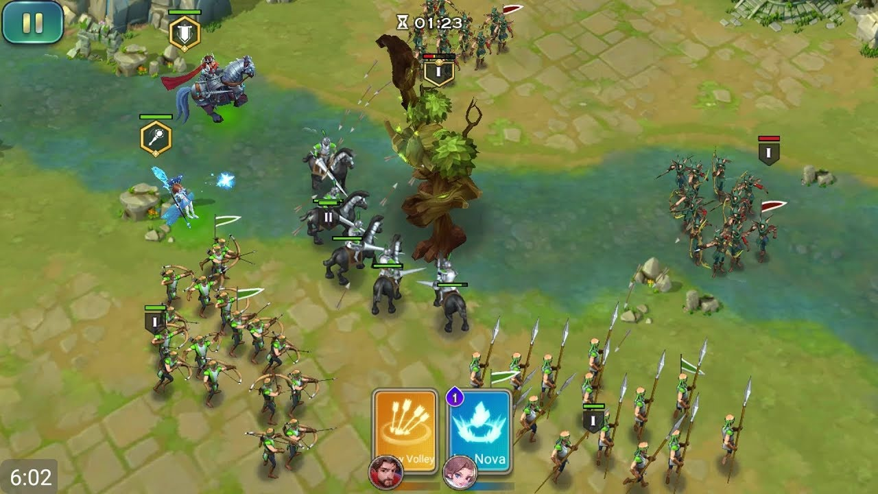 Image result for Art of Conquest: Sylvani Spring        game pic