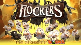 Flockers Level 1-5 Gameplay 3 Stars iOS / Android