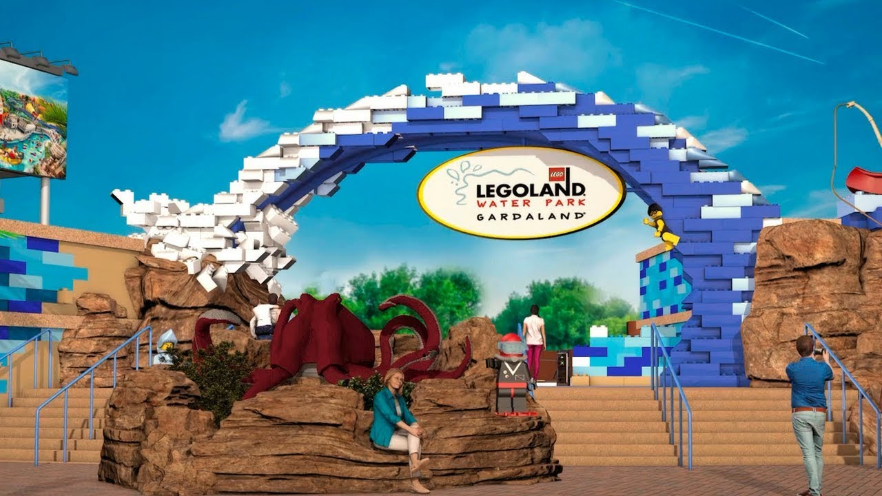 Gardaland S Legoland Water Park First Look Video And Concept