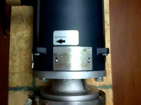 Bomba Centrifuga Explosion Proof Finish Thompson. Industrias Lefama,C.A.3GP