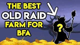 World Of Warcraft Gold Farm Best Old Raid For BFA