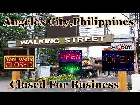 Angeles City, Philippines Is Closed For Business