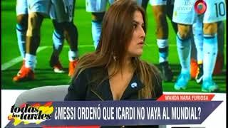 ¿Lio Messi ordenó que Mauro Icardi no vaya al Mundial?