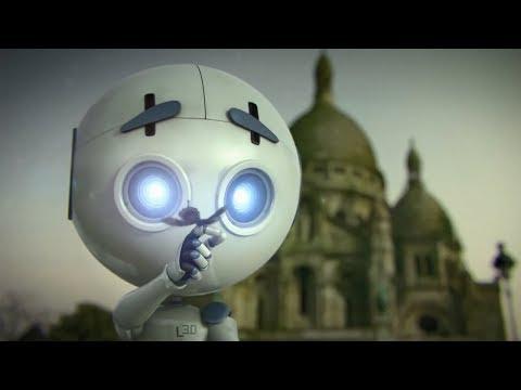真正细思极恐的短片,看似天真呆萌的机器人,却让人类恐怖灭绝!
