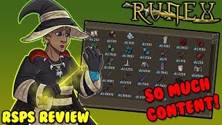 THIS CUSTOM RSPS HAS SO MUCH CONTENT!! *NEW UPDATES* - BIG GIVEAWAY! - RuneX - RSPS Review #9