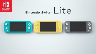 Nintendo Switch LITE Announced (Specs, Price, Release Date & More)