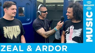 Zeal & Ardor Get Interviewed by Jose Mangin at... The Porta Potties?