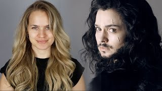 Transforming Myself Into Jon Snow from Game of Thrones - Kayley Melissa
