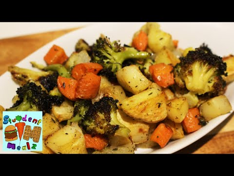 EASY OVEN ROASTED VEGETABLES RECIPE
