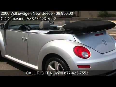 2006 Volkswagen New Beetle 2.5L Convertible - for sale in Ph