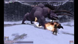 【FF11】ファイナルファンタジーXI 暗黒騎士で上位HNMと戦う