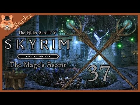 Let's Play Skyrim SE Modded - Episode 37 [The Mage's Ascent]