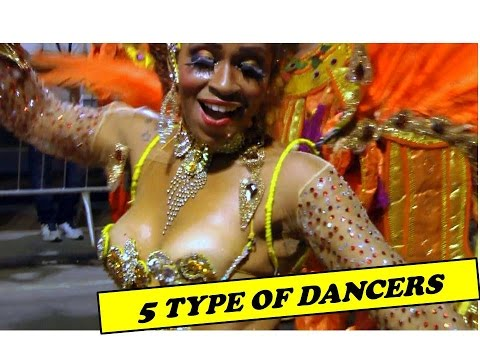 5 TYPES OF DANCERS : FIVE DANCING SOLO ROUTINES IN LIVE PRESENTATIONS