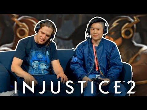 Injustice 2: Jason Mewes VS unCAGEDgamez On The MAIN STAGE!!