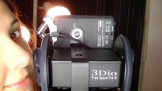ASMR Binaural Microphone Test:  3Dio Free Space Pro II