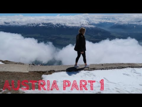 I'M IN AUSTRIA FOR A WEEK!! Part 1