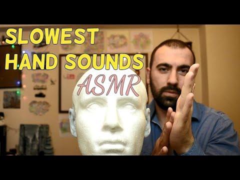 ASMR Slow Hand Sounds | Let's Sleep Together!