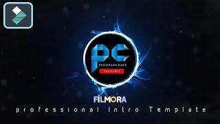 دورة إحترف Filmora    شرح عمل مقدمة إحترافية Filmora Intro Template