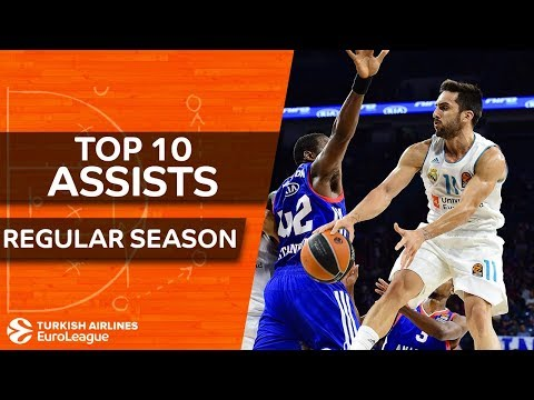 Turkish Airlines EuroLeague, Top 10 Assists, Regular Season