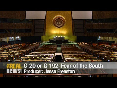 G-20 or G-192: Fear of the South