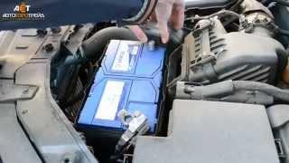Меняем аккумулятор на Киа Соренто (Kia Sorento) II (XM) 2.2 дизель (Varta 95Ah JR+)(, 2015-02-19T10:59:36.000Z)