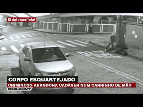SP: Corpo esquartejado é abandonado em carrinho de mão