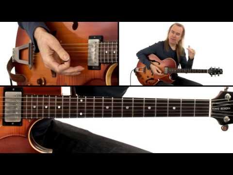 Jazz Guitar Lesson - #44 Jazz Standard Progression - David Becker