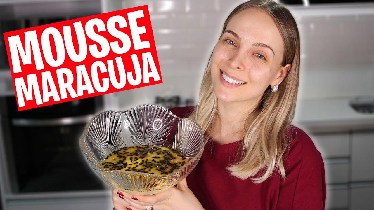 MOUSSE DE MARACUJÁ - #ReceiTata