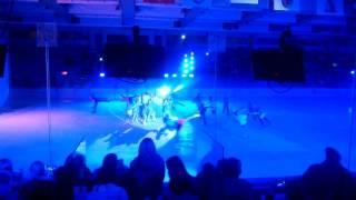 Ледовое шоу Спасти Снежную Королеву. Танец: Злые силы холода. Тюмень 2017.
