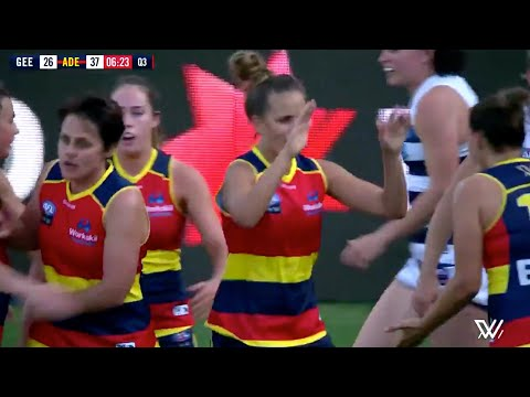 Crows AFLW R3 Highlight: Ponter's Sensational Spinning Snap