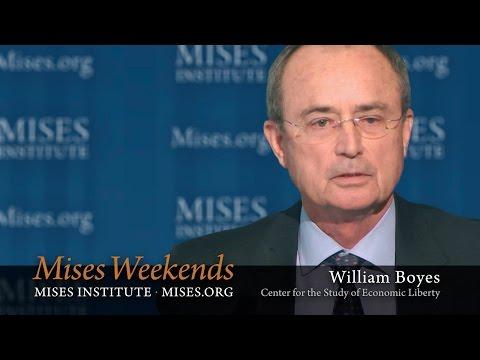 William Boyes: From Mainstream Academia to Unrepentant Rothbardian