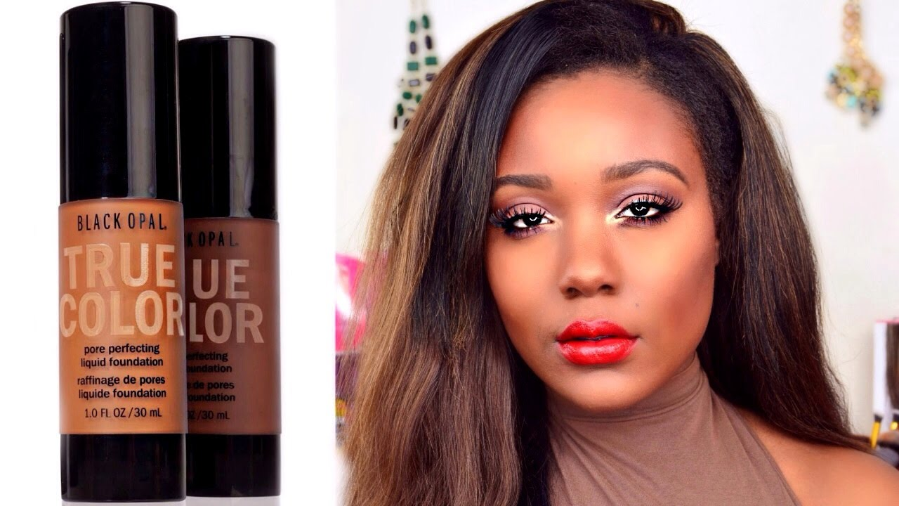 NEW Drugstore Oily Skin Foundation: Black Opal Foundation Review ...