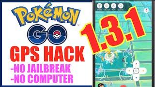 NEW POKEMON GO HACK 1.3.1 UPDATED (NO JAILBREAK + NO COMPUTER) Tap To Walk, Teleport & More!