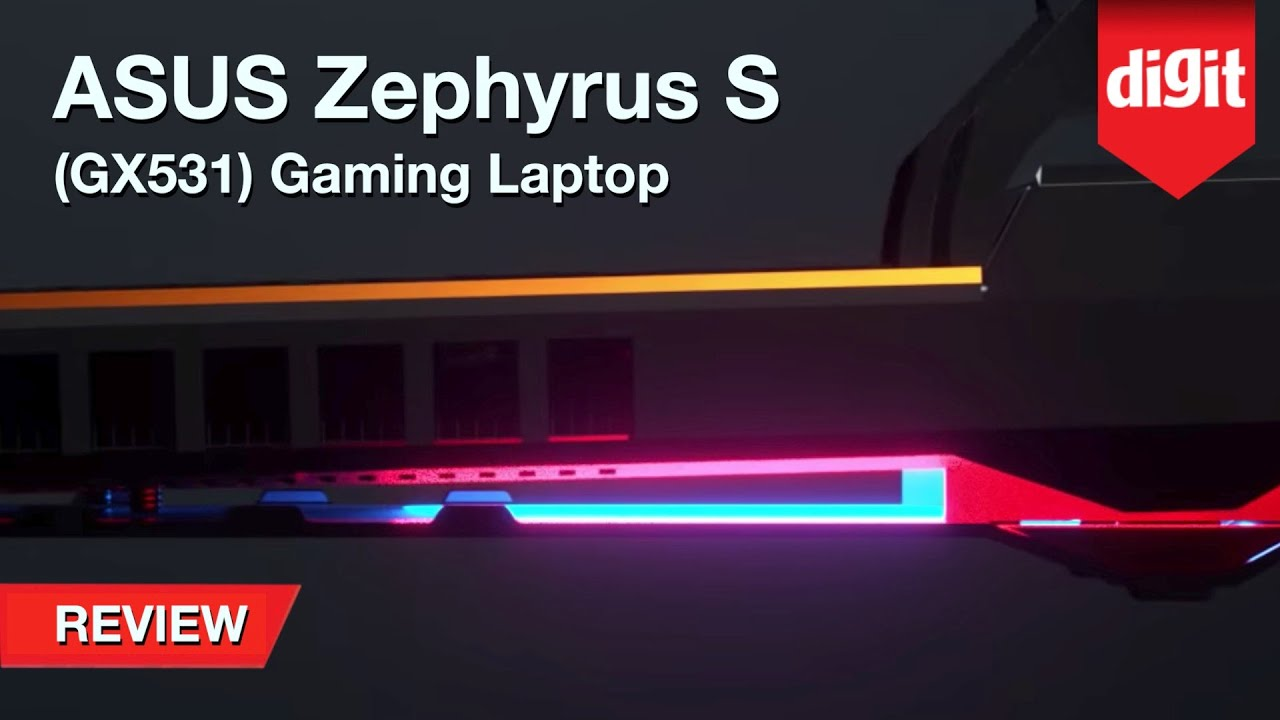 ASUS ROG Zephyrus S (GX531) Ultra Slim Gaming Laptop Review