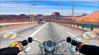 Moto Racing 3D - Gameplay Android game - bike race game