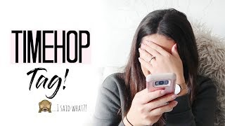 TIMEHOP TAG |  REGRETS, THROWBACKS AND LOOKING TO THE FUTURE | MAMA REID