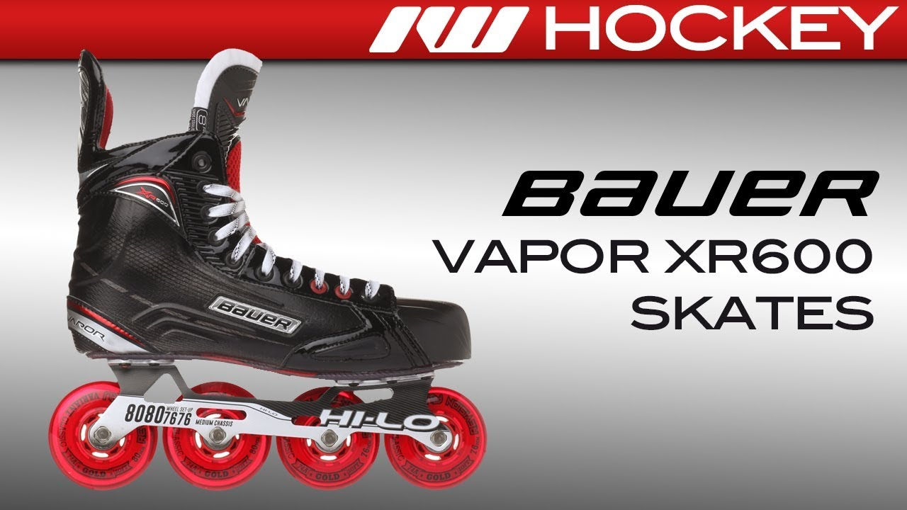 1dcea9ba007 Bauer Vapor XR600 Skate Review - YouTube