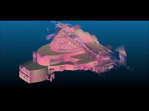 IITSEC Atrium 3D Scanned, Hand Held LIDAR