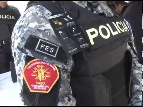 Policía Nacional Civil recibió nuevo equipo para fortalecer seguridad