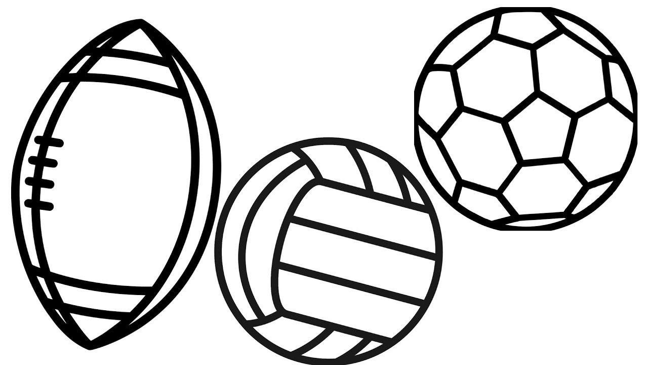How to Draw and Paint Soccer Ball Sport Beach Balls ...