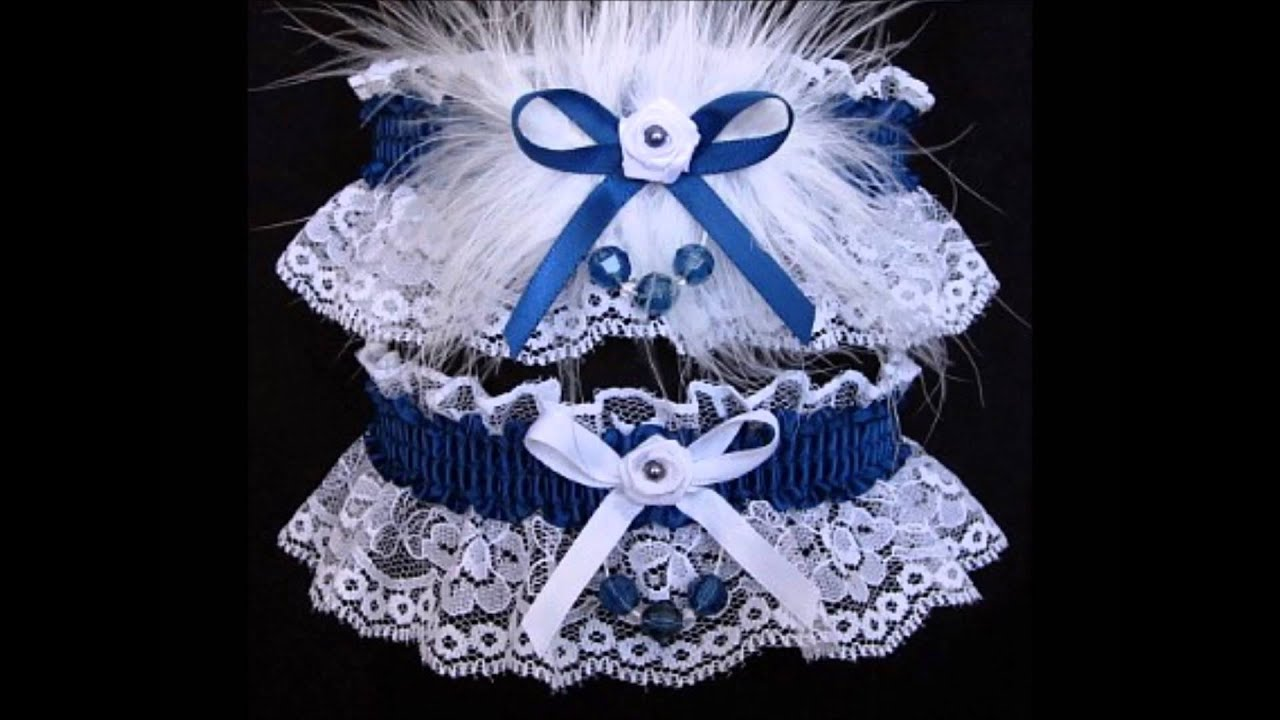 Prom Garters 2016 On White Lace