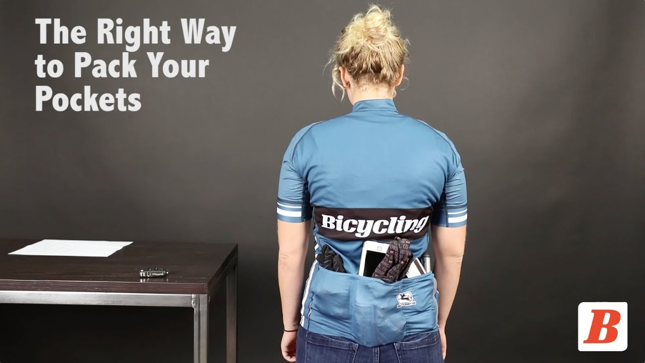 How to Pack Your Jersey Pockets - YouTube 1b41daa8d
