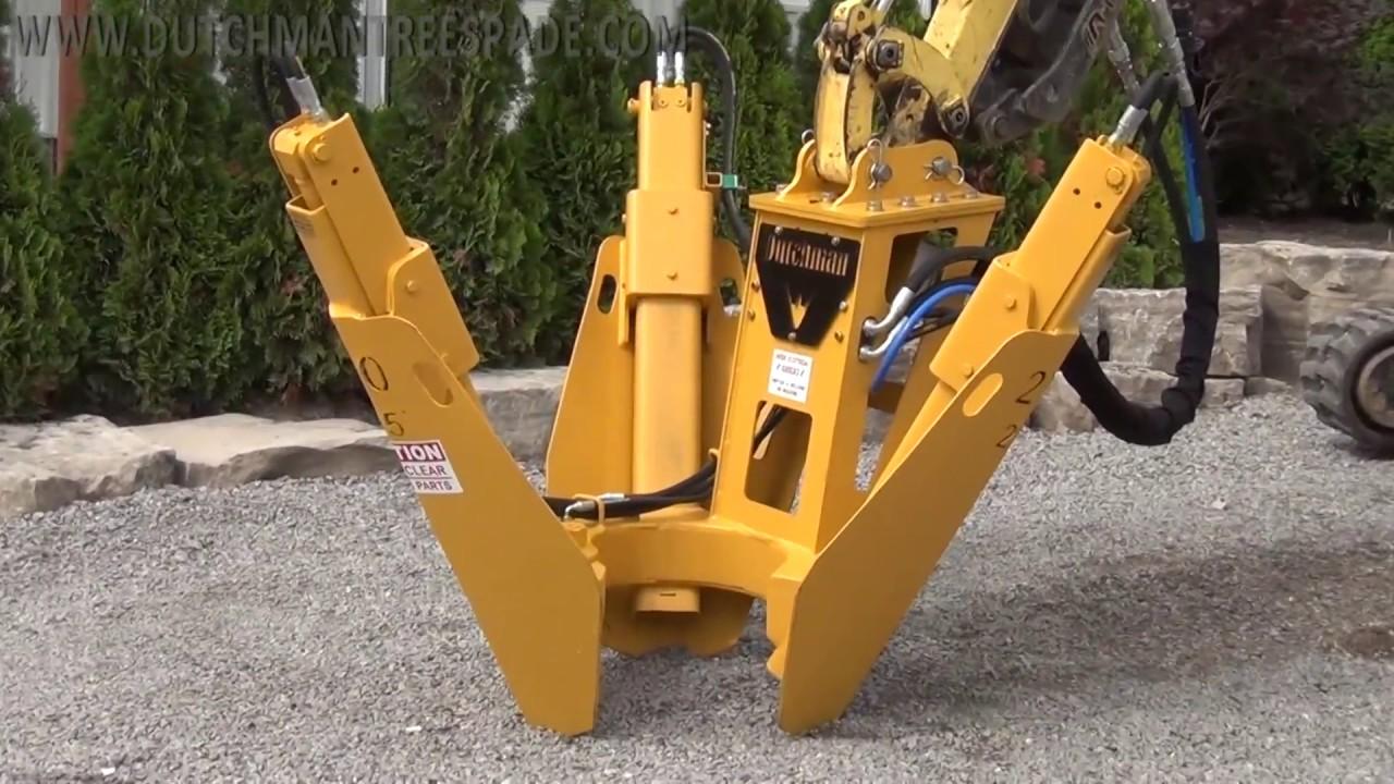 Dutchman 200i Lightweight Excavator-mounted Tree Spade