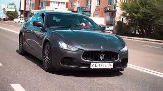 Реальный Владелец Maserati Ghibli 411 Сил
