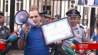 Արմեն Սարգսյանը Նիկոլ Փաշինյանի ֆեյքն է. Նարեկ Սամսոնյան